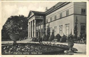 1934 Alcsút, Főhercegi kastély, Korona rész. király József kiadása
