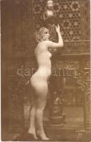 Erotikus meztelen hölgy / Erotic nude lady. Luxe 23. photo (non PC)