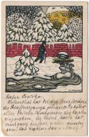 Winter. Wiener Werkstätte No. 763. s: Carl Krenek (EM)