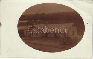 1912 Anger, Bahnhof / railway station. photo (EB)