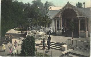 1910 Aknaszlatina, Slatinské Doly, Szolotvino, Solotvyno (Máramaros); Lajos sósfürdő. Wizner és Dávid kiadása / spa (EK)