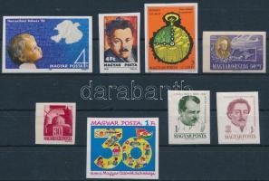 1943-1986 8 klf vágott bélyeg