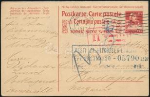 Svájc 1917