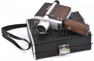 Bell & Howell Autoload 308 Super8 kamera működőképes, jó állapotban, hordtáskával