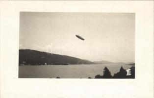 Wörthersee, Zeppelin Luftschiff / airship. photo