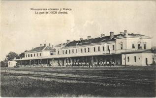 1910 Nis, Nich; La gare / railway station