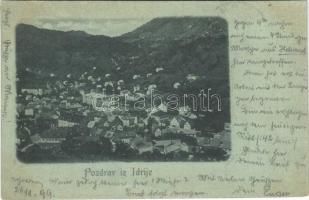 1899 (Vorläufer) Idrija, Idria;