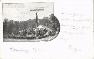 1899 (Vorläufer) Kranj, Krainburg; Kolodworska Restravracija / railway restaurant