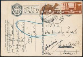 1937 Képeslap Svájcba / Postcard to Switzerland