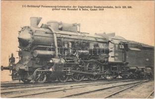 MÁV (Magyar Királyi Államvasutak) 328. sor 003. III. 425. gőzmozdonya / Hungarian State Railwayss locomotive / 2 C-Heissdampf Personenzug-Lokomotive der Ungarischen Staatseisenbahn