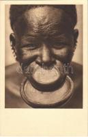 Tányérajkú négerek / African folklore, lip plate