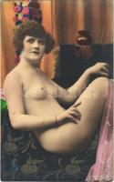 Meztelen hölgy / Erotic nude lady (non PC)