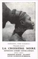 Nobosodrou, Femme Mangbetou. Photographie extraite de La Croisiere Noire / African folklore, hairstyle (EK)