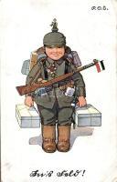 Child, Germand soldier, Gyerek, német katona