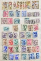 Ausztria 1-2 ezer bélyeg 12 lapos A4-es berakóban a korai évekből, benne Feldpost és Bosznia is