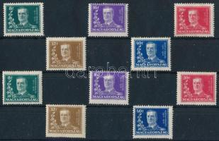 1930 Kormányzói 10 éves évforduló 2 db sor (16.000)