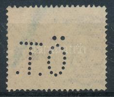 1909 Turul 35f Ö.T. perfin