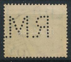 1913 Turul 5f R.M. perfin