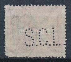 1913 Turul 10f S.C.L. perfin
