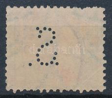 1900 Turul 5f S. perfin
