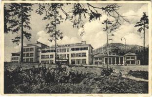 Alsótátrafüred, Unter-Schmecks, Dolny Smokovec (Tátra, Magas-Tátra, Vysoké Tatry); Srobaruv ústav / üdülő, szálloda / spa, hotel (EK)