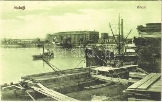 Galati, Galac, Galatz; Docuri / port, SS Helen