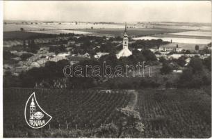 Felsődiós, Németdiós, Obernussdorf, Horné Oresany; látkép, szőlő. M. Polín felvétele / general view, vineyards