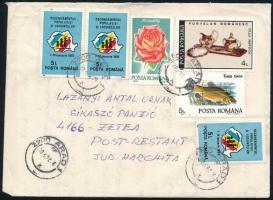 1992 Aradról a Sikaszó panzióba küldött levél