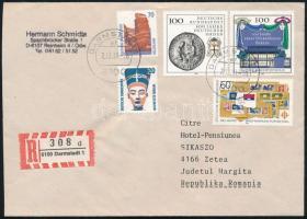 1991 Németországból a Sikaszó panzióba küldött ajánlott levél