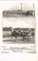 1941 Budapest, Csörszárok díj győztese: Ácsi hajt.: Wiltschire 1. Fotó Faragó - fogathajtó verseny / Hungarian horse carriage driving race. photo