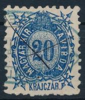 1873 Kőnyomat 20kr (6.500)
