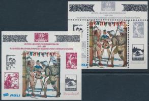1992 / 10+11 Cserkész fogazott + vágott (5.500)