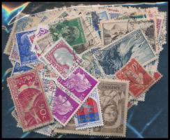 Franciaország 460 db bélyeg ömlesztve tasakban
