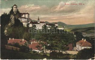 1909 Árvaváralja, Oravsky Podzámok; Árva vára. Pietschmann Ferenc 2317. / Schloß Árva / Oravsky zámok / castle (EK)