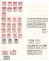 Portó gyűjtemény maradvány 2 db berakólapon