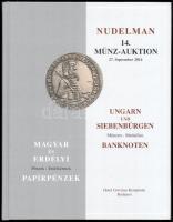 Nudelman: 14. Münz-Auktion - Magyar és Erdélyi Pénzek - Papírpénzek 2014.