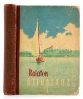 Darnay-Dornyay Béla - Zákonyi Ferenc: Balaton, útikalauz. 1957, Sport. Fekete-fehér fotókkal illusztrálva. Kiadói félvászon kötésben, kopott borítóval.