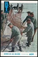 1965 Balaton francia nyelvű színes, képes ismertető füzet + Olasz nyelvű füzet 18 p . / Booklet about the Balaton in French and one in Italian