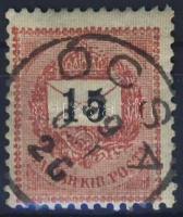 1889. 15 kr ÓCSA