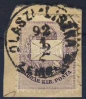 1881. 2kr OLASZI-LISZKA ZEMPL. M.