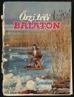 Móricz Béla: Őszi, téli Balaton. Bp., 1960, Somogy M. Tanács Idegenforgalmi Hivatala. Kiadói papírkötés, rossz, széteső állapotban.