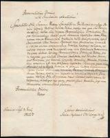 1802 Karancsság, latin nyelvű levél