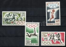1964 Tokiói Olimpia Mi 120-123