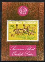 1976 Turizmus: Orchideák blokk Mi 19