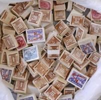 150 db magyar portó bündli az 1950-1990 közötti időszakból, postamesteri hagyatékból, dobozban
