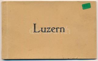 Lucerne, Luzern; postcard booklet with 6 postcards