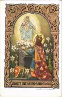 Szent Imre fogadalma. Rigler József Ede R.J.E. 16/5. / Das Gelübde des Heiligen Emerich / Saint Emerics vow s: Kátainé Helbing Aranka