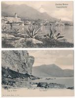 Lago di Garda - 2 pre-1910 postcards