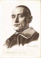 Mindszenty József magyar bíboros és hercegprímás / Hungarian cardinal and prince primate (EK) (non PC)