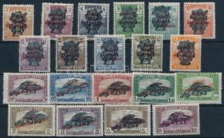 1920 Búzakalász sor (pár értéken törés/some stamp is folded) (15.000)